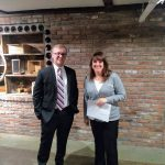 Lisa Celio and Luke Lehman from Bank 5