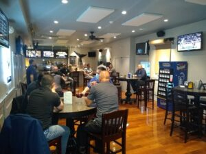 Members meeting at Thirsty Whale - third pic